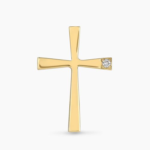 ΣΤΑΥΡΟΣ ΤΡΙΑΝΤΟΣ ΜΕ ΔΙΑΜΑΝΤΙ ΧΡΥΣΟΣ 18 ΚΑΡΑΤΙΑ